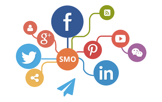 pictogramme représentant le SMO Social Media Optimisation
